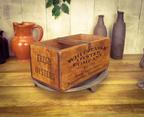 Medium Vintage Whitstable Oyster Company